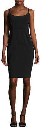 Narciso Rodriguez Scuba Cut Out Sheath Dress