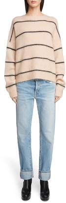 Acne Studios Thin Stripe Oversized Sweater