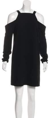 Tibi Cold-Shoulder Midi Dress w/ Tags