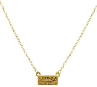 Riah Fashion Happy-Camper Cute Pendant-Necklace