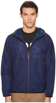 Paul Smith Nylon Hooded Jacket Men's Coat