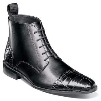 Stacy Adams Franco Croc Embossed Boot