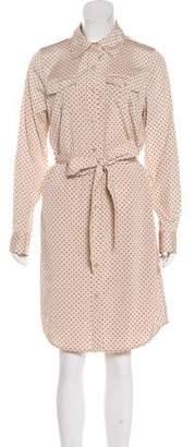 Tory Burch Silk Blend Midi Dress