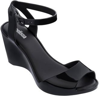 Melissa Blanca Jelly Wedge Sandal