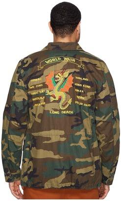 Alpha Industries - Dragon Tour Field Coat Coat $225 thestylecure.com