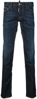 DSQUARED2 slim washed effect jeans