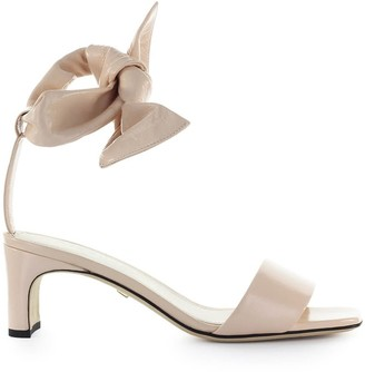 Grey Mer Ivy Pink Leather Sandal
