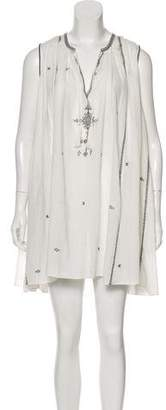 Etoile Isabel Marant Embroidered Mini Dress w/ Tags