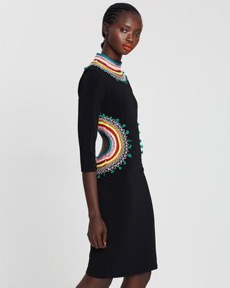 Alice + Olivia Tamson Ember Cutout Dress