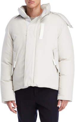 Jil Sander Removable Hood Down Jacket