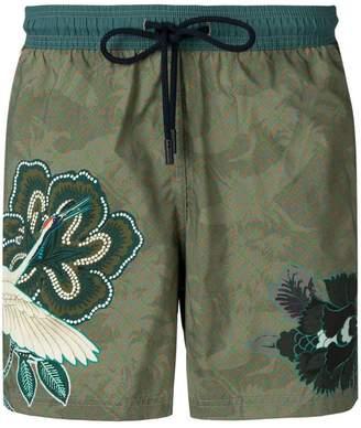 Etro Hawaiian swim shorts