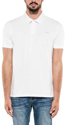 Woolrich White Stretch Polos