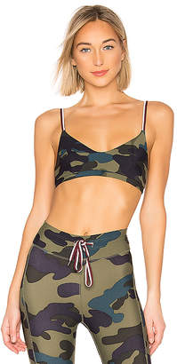 The Upside Army Camo Ballet Bra
