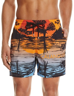 Vilebrequin Moopea Calanques Swim Trunks $295 thestylecure.com