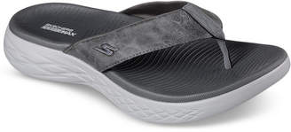 Skechers Men's On The Go 600 - Seaport Athletic Flip-Flop Thong Sandals from Finish Line
