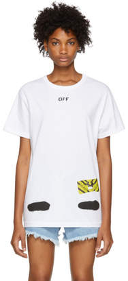 Off-White White Spray Paint T-Shirt