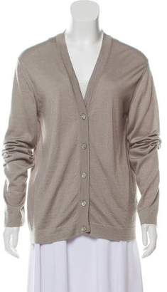Hermes Cashmere & Silk Cardigan