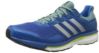 a6d22012b15d9 adidas Men s s Supernova Glide 8 Competition Running Shoes Unity  Blue Silver Metallic Vapour Steel