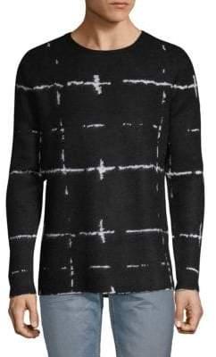 Karl Lagerfeld Knit Intarsia Sweater