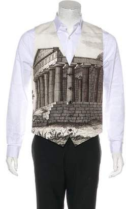 Dolce & Gabbana 2014 Sicily Landscape Suit Vest w/ Tags