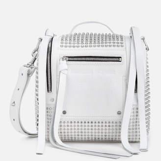 McQ Women's Mini Convertible Box Bag - White