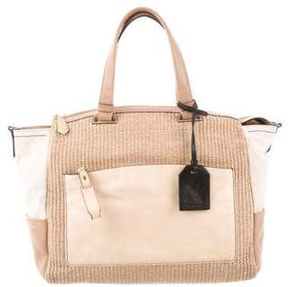 Reed Krakoff Straw Uniform Satchel