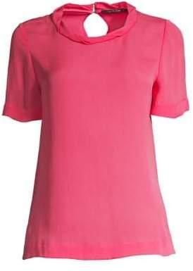 Azalea Kobi Halperin Kobi Halperin Women's Katrina Stretch Georgette Blouse - Pink Size XS