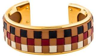 Hermes Woven Leather Cuff