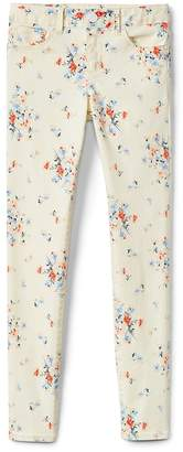 Gap Superdenim Super Skinny Jeans in Floral with Fantastiflex