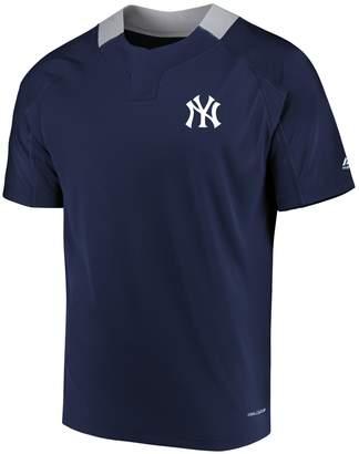 Majestic Men's New York Yankees Woven Tee
