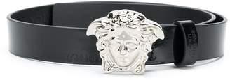 Versace logo plaque belt