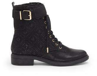 Vince Camuto Toralina – Quilted Combat Boot