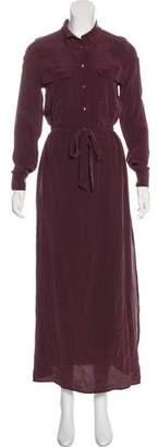 Equipment Silk Maxi Dress