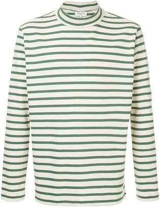 YMC high neck striped sweater