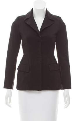 Alberta Ferretti Pocketed Notch-Lapel Blazer