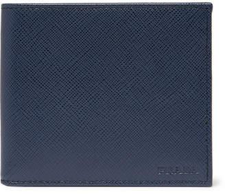 8abafa34bca1d2 Prada Logo-Debossed Saffiano Leather Billfold Wallet
