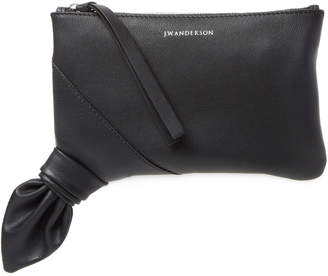 J.W.Anderson J. W. Anderson Leather Knot Clutch