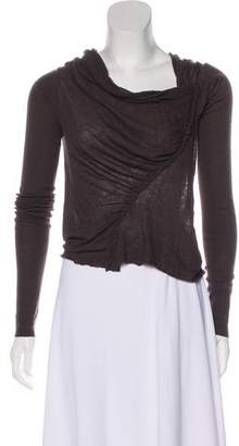 Rick Owens Lilies Angora and Wool-Blend Sweater