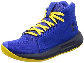 Under Armour Boys' Ua BGS Torch Mid Basketball Shoes,(38 EU)