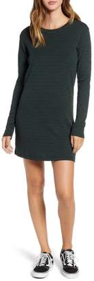 Obey Kenwood Stripe Cotton Blend Dress