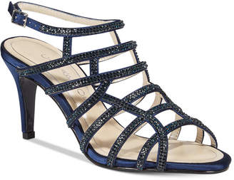 Caparros Harmonica Embellished Caged Evening Sandals Women's Shoes