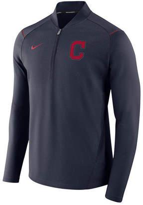 Nike Men Cleveland Indians Dry Elite Half-Zip Pullover