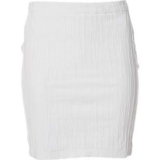 Versus White Cloth Skirts