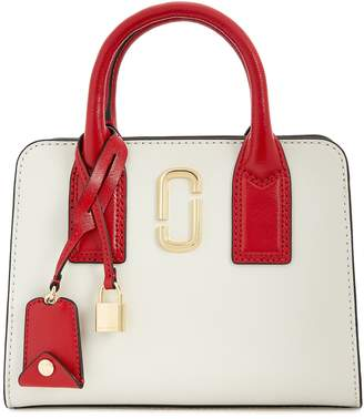 Marc Jacobs Little Big Shot Colour-block Top Handle Bag