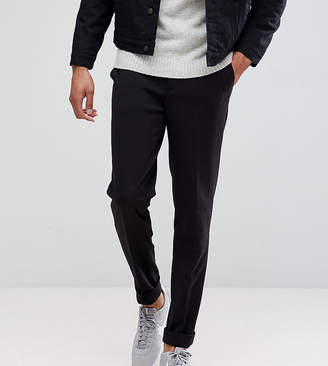 Selected Tapered Cropped Jersey Pants