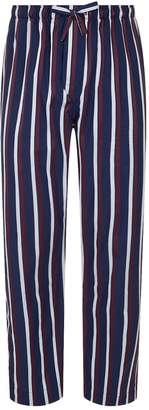 Derek Rose Striped Pyjama Trousers