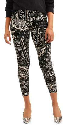 French Laundry Women's Printed Super Soft Legging