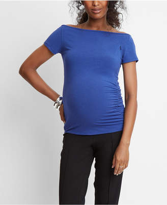 Stowaway Collection Maternity Off Shoulder and Nursing Top