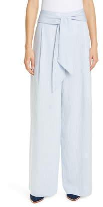 18cca46021f7c Club Monaco Blue Women's Pants - ShopStyle