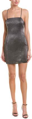 BCBGeneration Metallic Sheath Dress